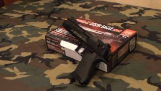 CyberGun/KWC CO2 BlowBack Desert Eagle Airsoft Review