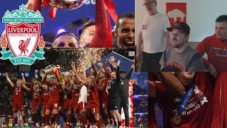 AMERICAN REACTS TO LIVERPOOL CHAMPIONS LEAGUE WINNERS!