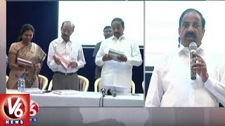 Minister Thummala Nageswar Rao Launches NAC 2018 Diary In Hyderabad