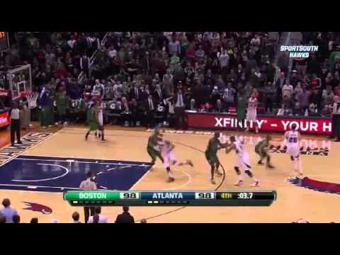 Boston Celtics vs Atlanta Hawks - January 25, 2013