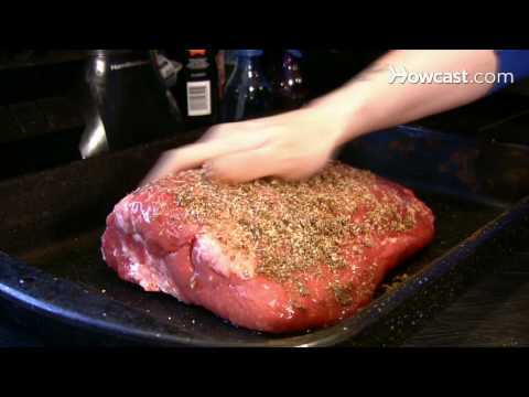 How To Oven-Cook Beef Brisket