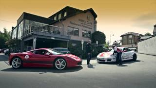 Porsche GT3RS Sabine Schmitz vs Ferrari 458 Italia Ron Simons - Nurburgring