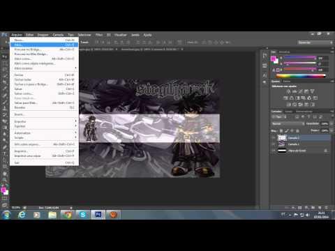 Como fazer uma arte de canal no Photoshop CS6 thumbnail