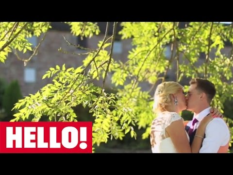 Hello! invites you to Rebecca Adlington's beautiful wedding