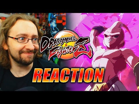 MAX REACTS: Kid Buu Trailer - DragonBall FighterZ