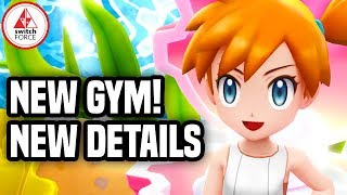 Pokemon Let's Go Pikachu: NEW GYM GAMEPLAY + CHARACTERS!