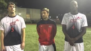 NJIT MSOC Post Game Interview vs LIU Brooklyn