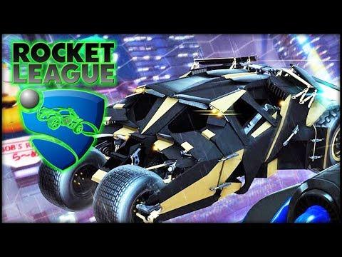 Rocket League - The Batman Tumbler!