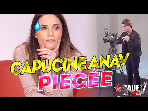 CAPUCINE ANAV PIÉGÉE EN CAMÉRA CACHÉE