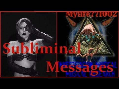 Applause - Lady Gaga (Subliminal Messages)