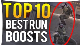 CS:GO - TOP 10 BEST PRO RUN BOOSTS OF ALL TIME!