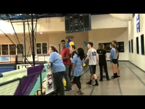 How many hugs within 10 mins? (Manheim Township High school)
