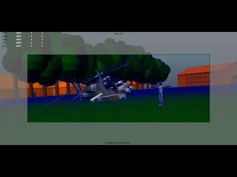 VFX Course 2014 - Helicopter Crash Previz