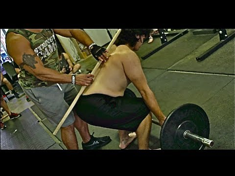 Teaching the Deadlift on a First Timer