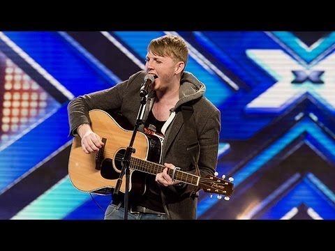James Arthurs audition - Tulisas Young - The X Factor UK 2012