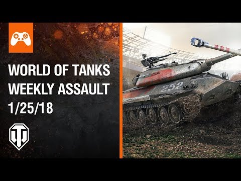 Console: World of Tanks Weekly Assault #36