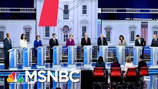 Top Moments From The MSNBC/Washington Post Debate | The 11th Hour | MSNBC
