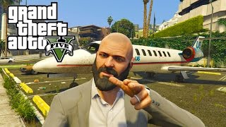 GTA V - Random Moments 11 (Angry Michael, Plane Cruising)