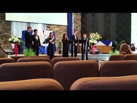 Adtividad con el coro de Highland View Academy - 06/29/2014