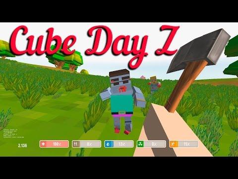 Cube Day Z против зомби
