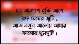 Cholna Sujon Mile Dujon Song Bangla lyrics full/Pobitra Halder