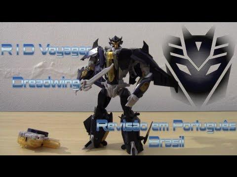 RID Voyager Dreadwing Transformers Prime - Revisão em Portugues