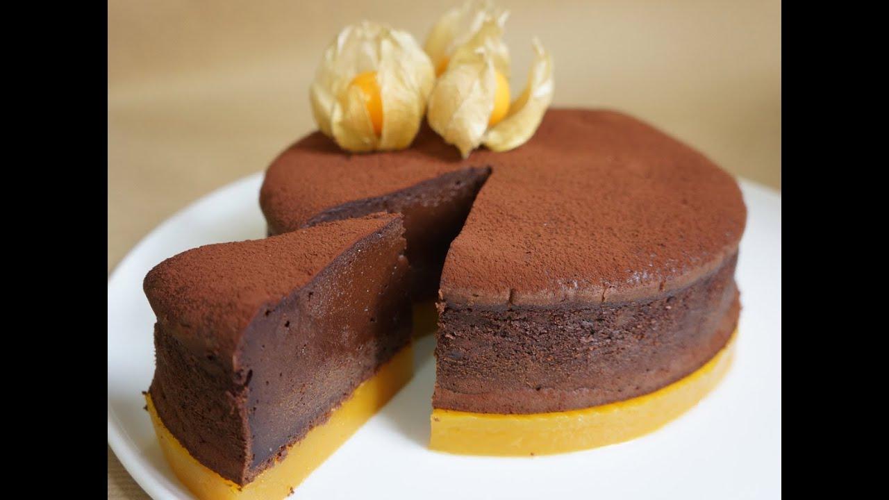 Recette du fondant au chocolat mangue passion youtube - Decoration moelleux au chocolat ...