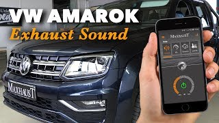 VW Amarok V6 TDI by Maxhaust Soundbooster - Active Sound