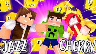 JAZZGHOST vs CHERRY - Roleta da Morte ( CASAL CRAFT )