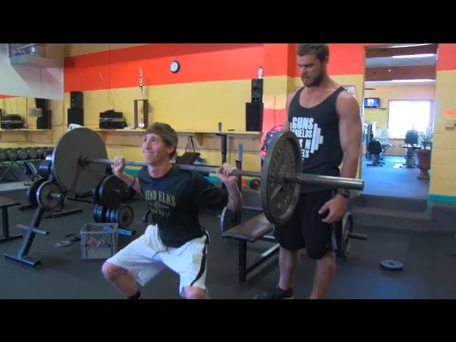 Teen Beginners Bodybuilding Training - Legs Workout