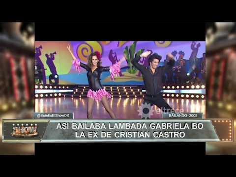 Así bailaba lambada Gabriela Bo, la ex de Cristian Castro