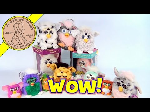 Our Furby Collection - From Happy Meal Furbies to Leopard Spots Furbies - Furbish Fun!