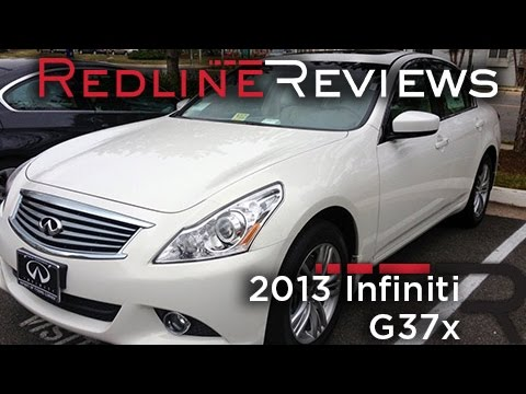 2013 Infiniti G37x Review. Walkaround. Exhaust. Test Drive
