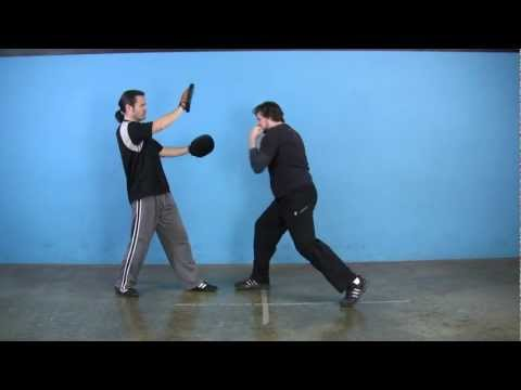 JKD Backfist to Straight Rear Punch (Beginner Punching Combinations) Image 1