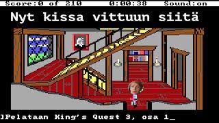 TIETTARIPELISINIKKA69: King's Quest 3 | Osa 1