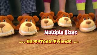 Happy Toezy Friends Slippers