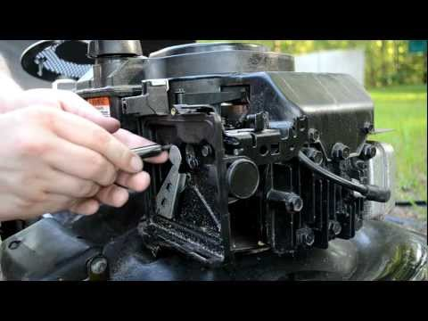 Mower Carb Cleaning