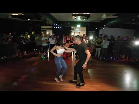 Fiesta Deluxe Bachata - Samy El Magico y Griselle Agosto ( first dance ever )