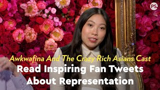 The Crazy Rich Asians Cast Get Emotional While Reading Inspiring Fan Tweets About Representation