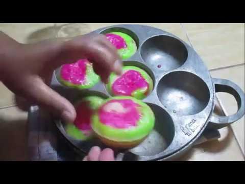 Resep Dan Cara Membuat Kue Bikang Mawar Bersarang Mantap @Dafa TubeHD