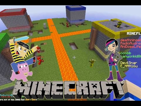 Minecraft - Micro Battle Mini Game Play with Radiojh Audrey