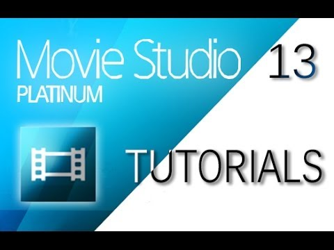 Sony Movie Studio 13 (Platinum/Suite) - How to Add Transitions and Effects