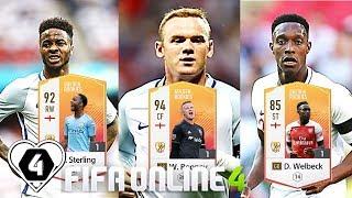 FIFA ONLINE 4: BUILD & TEST DÀN TEAM TUYỂN ANH GR 1,5 TỶ Vs W. Rooney GR - ShopTayCam.com