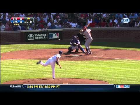 St. Louis Cardinals vs. Chicago Cubs -Recap- 8/17/13
