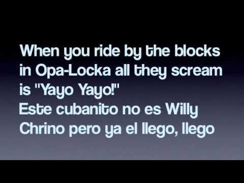 Fuego- Pitbull (Lyrics On Screen)