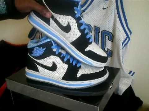 blue black and white jordans. AIR JORDAN ALPHA 1 (UNIVERSITY BLUE) Black & White