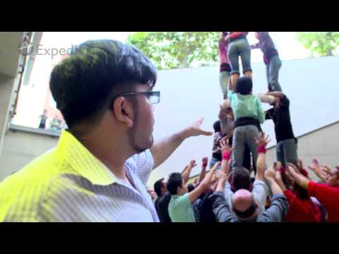 Barcelona Travel Guide: Barcelona Castellers - A People Shaped Travel Video by Expedia UK