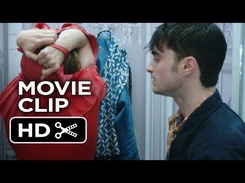 What If Movie CLIP - I'm Stuck (2014) - Zoe Kazan, Daniel Radcliffe Movie HD