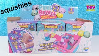 Peel 2 Reveal Mystery Squishy Playset Soft n Slo Toy Review | PSToyReviews