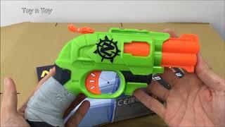 Double barrel Nerf Zombie Strike toy gun